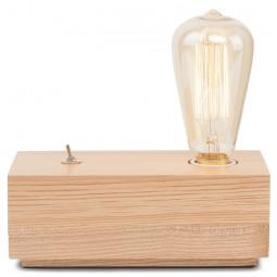 Lampka nocna Kobe z drewna jesionu - It's About RoMi