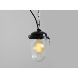 Lampa wisząca LABOR L - czarny