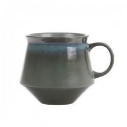 Kubek ceramiczny na herbatę 70's XL: mech