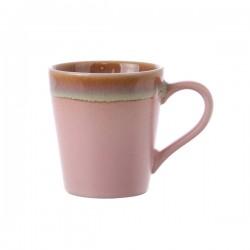 Kubek ceramiczny do espresso 70's: róż