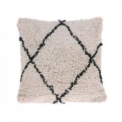 Bawełniana poduszka w romby (50x50)