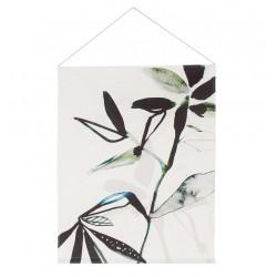 UNC dekoracja ścienna bawełniana Leaf