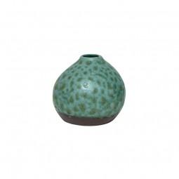 Ceramiczny wazon zielony