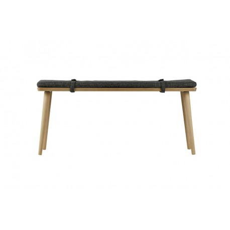Ławka Beau drewniana z poduszką