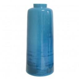 Waza szklana niebieska