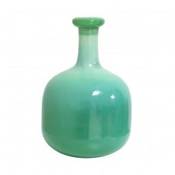 Waza szklana zielona