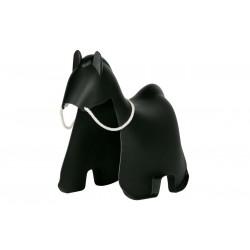 Koń na biegunach Meia czarny