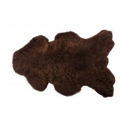 Skóra owcza brązowa 110x60cm