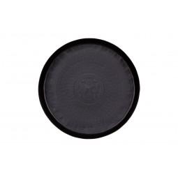 Taca metalowa czarna 44cm