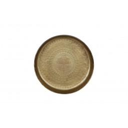 Taca metalowa mosiężna 30cm