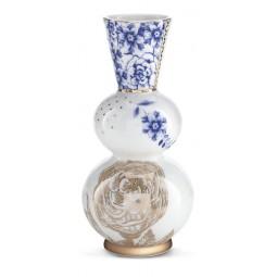 Wazon Royal biały - 15 cm