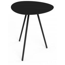 Stolik High Alowha 90x110cm rama w kolorze czarnym
