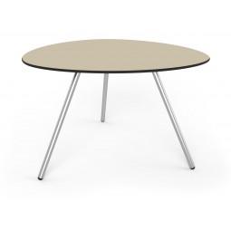 Stół Big Dine Alowha 120cm rama ze stali nierdzewnej
