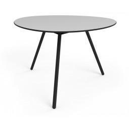 Stół Big Dine Alowha 120cm rama w kolorze czarnym
