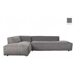 Sofa FAT FREDDY LEFT COMFORT L szara