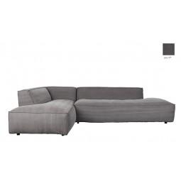 Sofa FAT FREDDY LEFT STONE szary