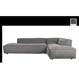 Sofa FAT FREDDY RIGHT STONE szary