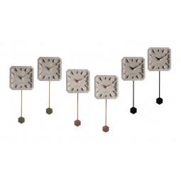 Zegar betonowy TIKTAK (zestaw 6szt.)