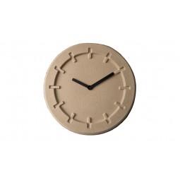 Zegar PULP TIME okrągły beżowy