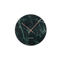 Zegar MARBLE TIME zielony