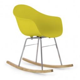 Fotel bujany TA, podstawa czarna, metalowa