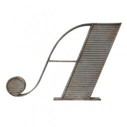 Metalowa litera A - HK Living