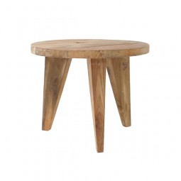 Stolik kawowy S z drewna tekowego - HK Living