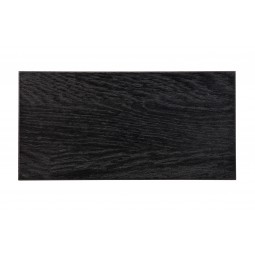 Próbka drewno dębowego czarna noc 10x25cm - Woood