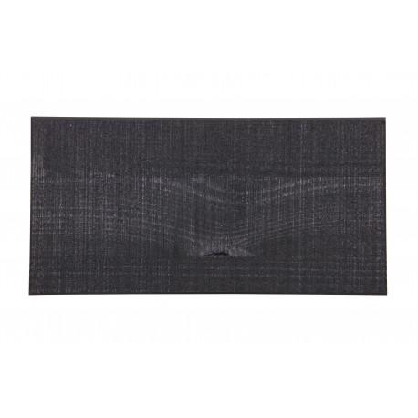 Próbka drewna sosnowego litego czarny 10x25 - Woood