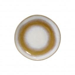 Ceramiczny talerz deserowy 70's snowy