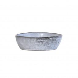 Ceramiczna misa rozm. M  wykonczenie rustykalne