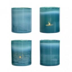 Świecznik na tealight niebieski