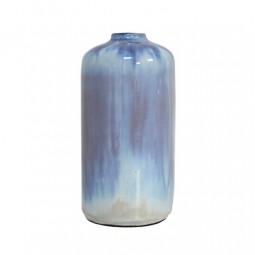 Waza ceramiczna M niebiesko perłowa