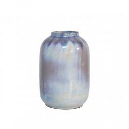Waza ceramiczna S niebiesko perłowa