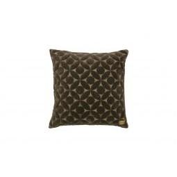 Poduszka dekoracyjna Snuggle, kolor ciemnoszary, 50x50 cm