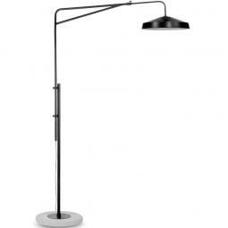 Lampa podłogowa Brighton matowa, czarna