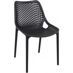 Krzesło Grid czarne