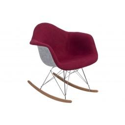 Krzesło P018 RAR Duo czerwono - szare
