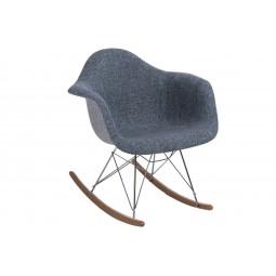Krzesło P018 RAR Duo niebiesko - szare