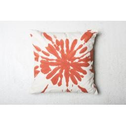 UNC bawełniana poduszka pomarańczowa