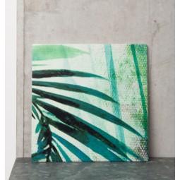 UNC ceramiczna podstawka liście palmowe