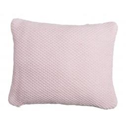 UNC Poduszka dekoracyjna tkana kolor różowy