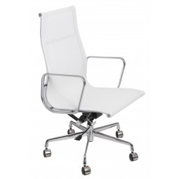 Fotel biurowy CH1191T biała siatka