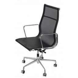 Fotel biurowy CH1191T czarna siatka