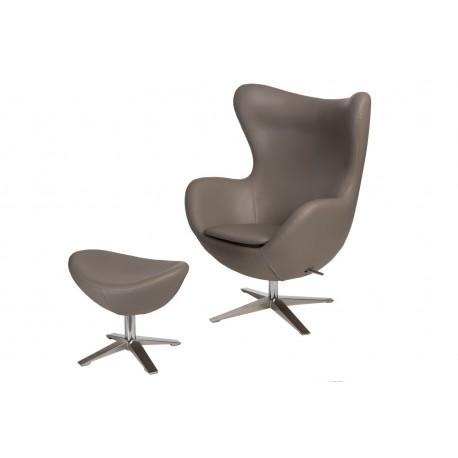 Fotel Jajo Soft z podn. sk. eko 533 khaki
