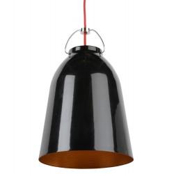 Lampa wisząca CRU-S2 czarna śr.25,7