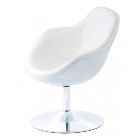 Fotel Pezzo K- biały, S-białe 906
