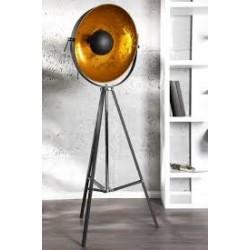 Lampa Studio czarno - złota outlet