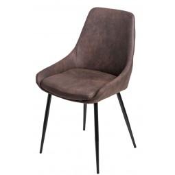 Krzesło Floyd brązowe ciemne 1025