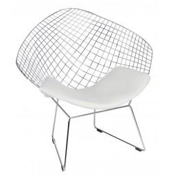 Krzesło HarryArm biała poduszka